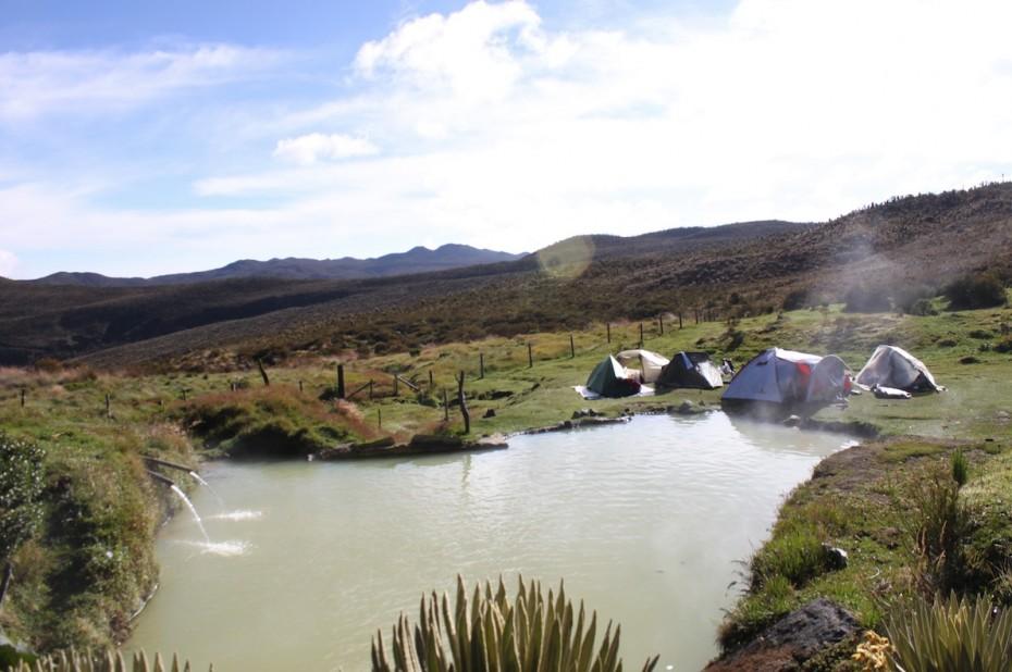Project Cordillera 2017, Nevado del Tolima Colombia trek, hiking, hot springs
