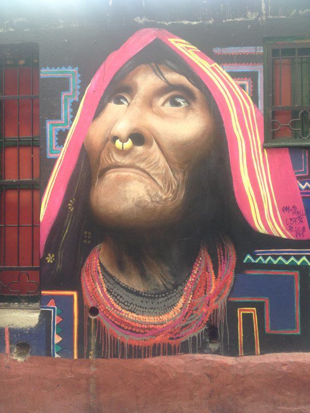 Bogota graffiti art